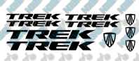 Trek Frame Decal Set